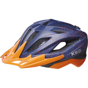KED Street MIPS Helm Kinderen, blue/orange